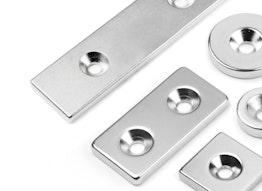 anschraubbare Magnete