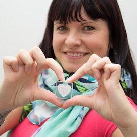 Decomagneet Diamond Heart