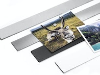 Magnetic strips in various styles