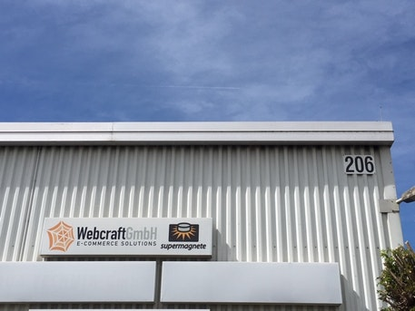 Edificio de oficinas de Webcraft GmbH en Gottmadingen